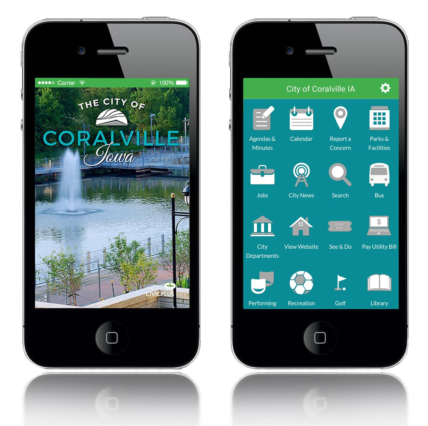 City of Coralville Mobile App