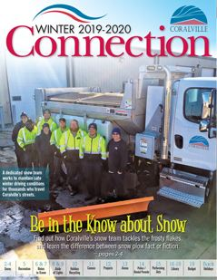 Winte 2019-20 Connection Cover Snow plow and snow plow drivers